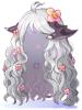 peruca platinada da nidhogg